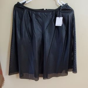 New! CALVIN KLEIN FAUX LEATHER SKIRT!